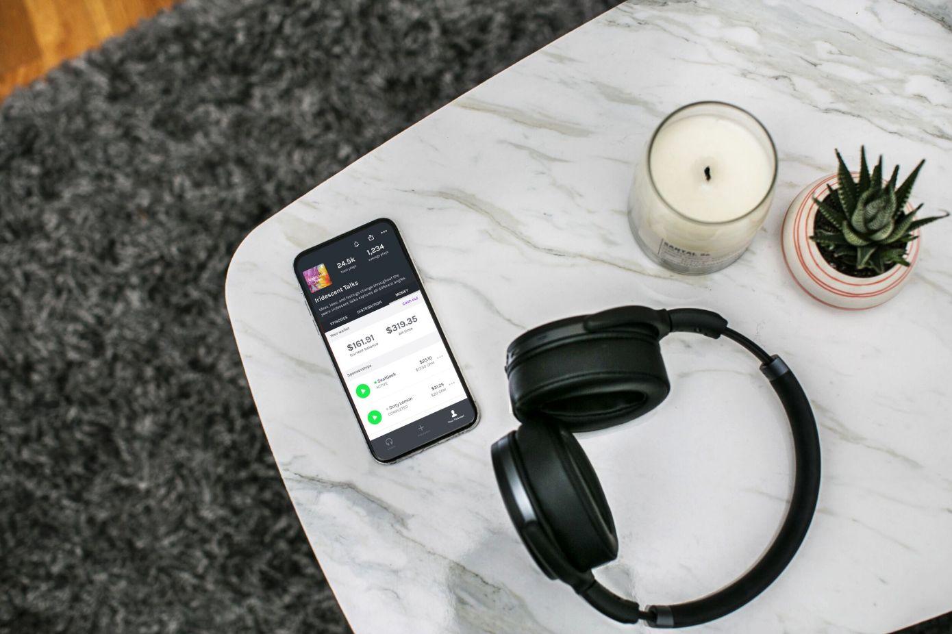 Anchor, la aplicación de podcasting de Spotify, ayuda a crear trailers