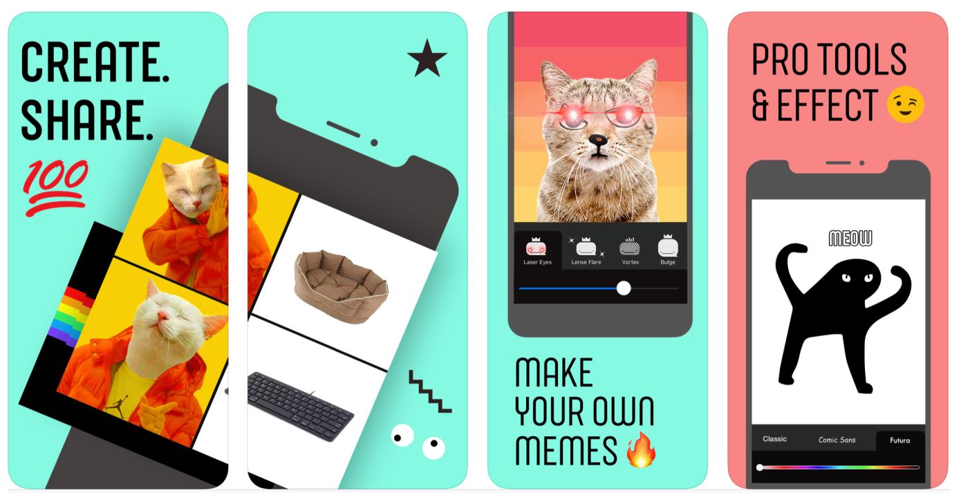 Whale, el último experimento de Facebook como una aplicación de creación de memes