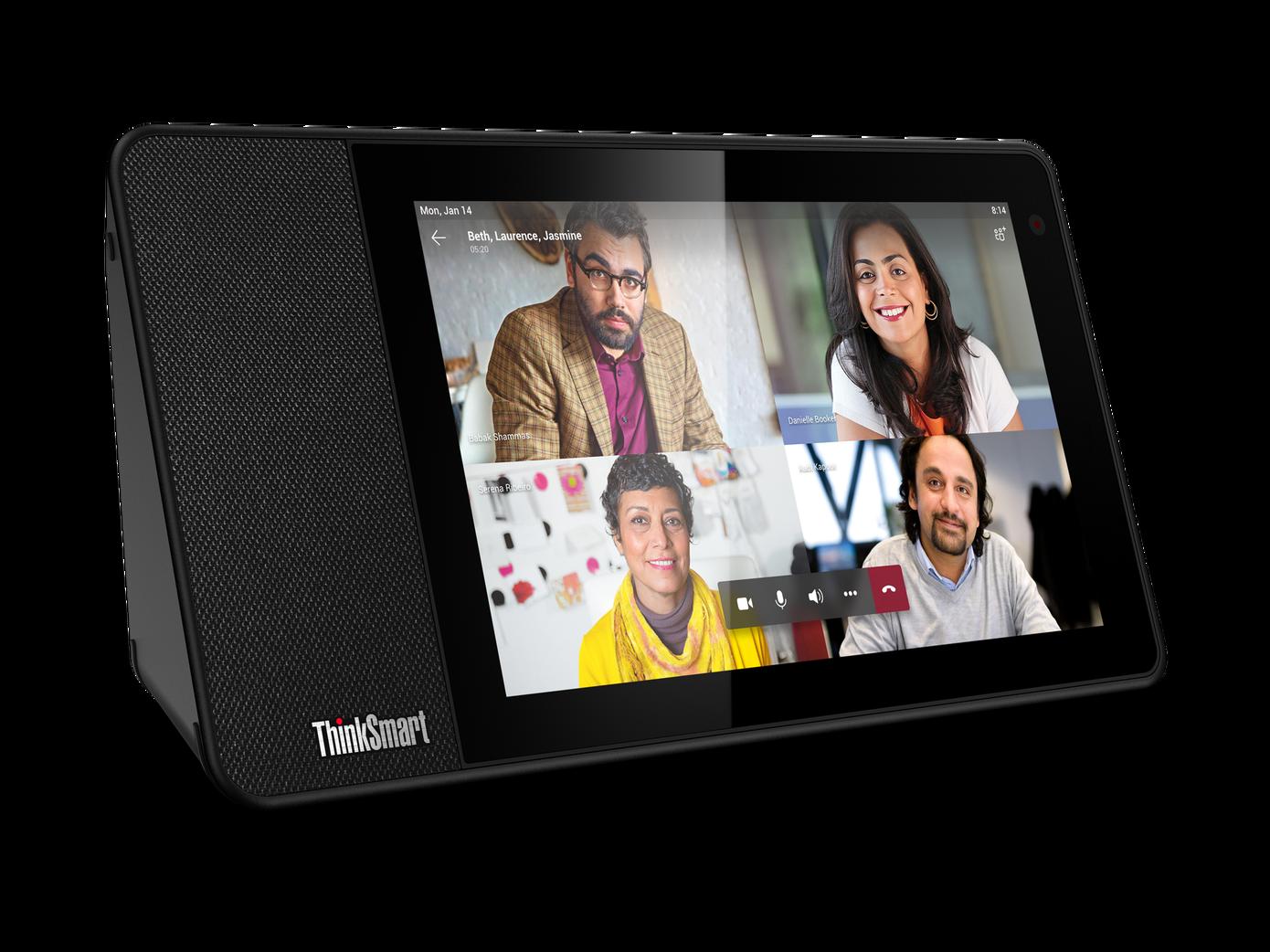 Lenovo está llevando pantallas inteligentes a las oficinas con el dispositivo Microsoft Teams
