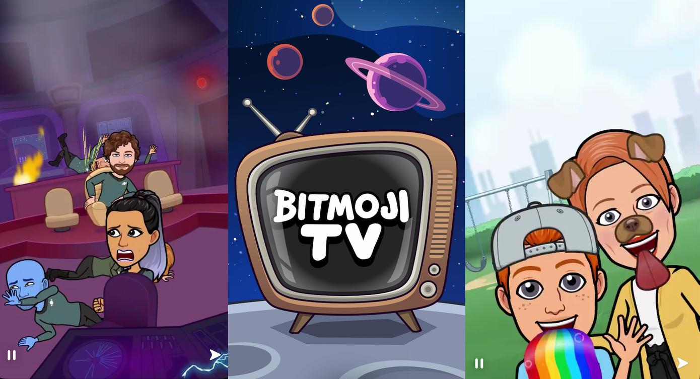 Snapchat lanzará Bitmoji TV, un programa de dibujos animados personalizado