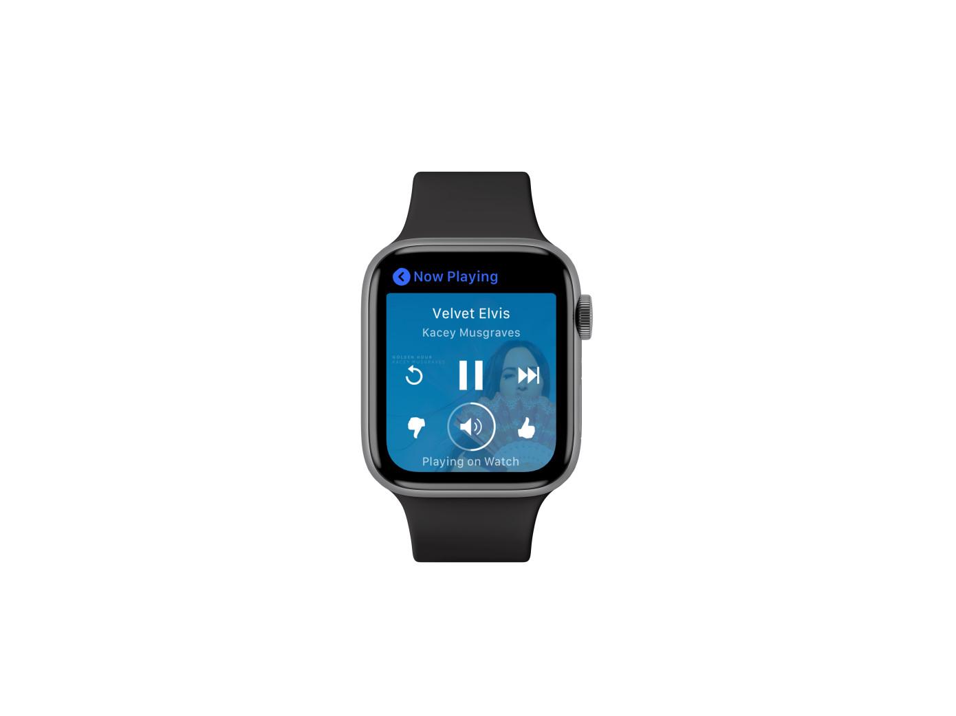 La aplicación Apple Watch de Pandora permite dejar el iPhone atrás