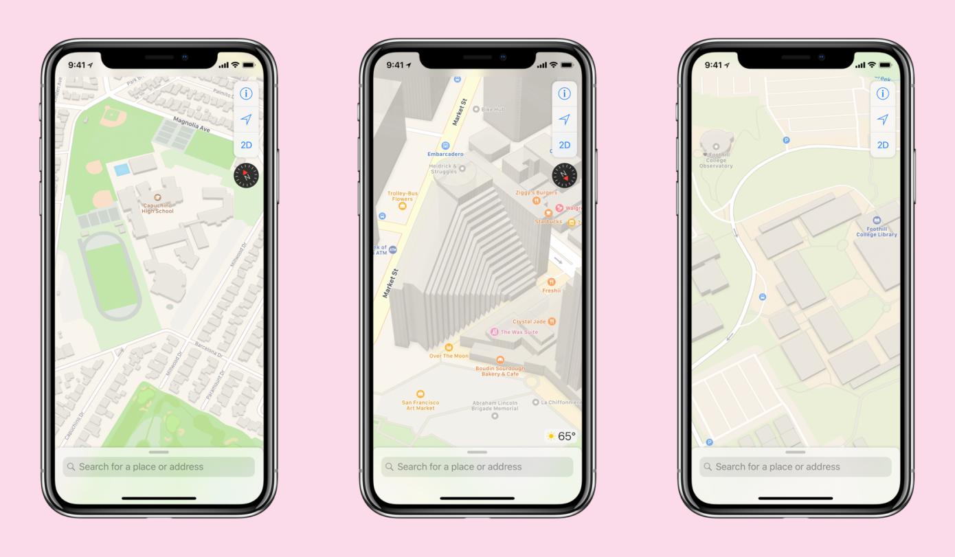La rediseñada aplicación Maps de Apple está disponible en todo Estados Unidos y agrega tránsito en tiempo real para Miami
