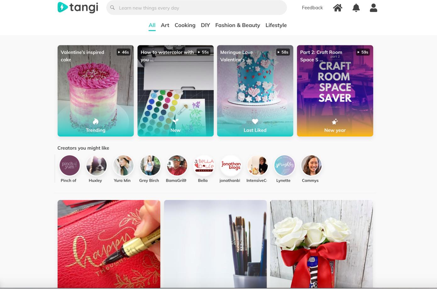 El Área 120 de Google lanza Tangi, una aplicación de video de formato corto centrada en la creatividad