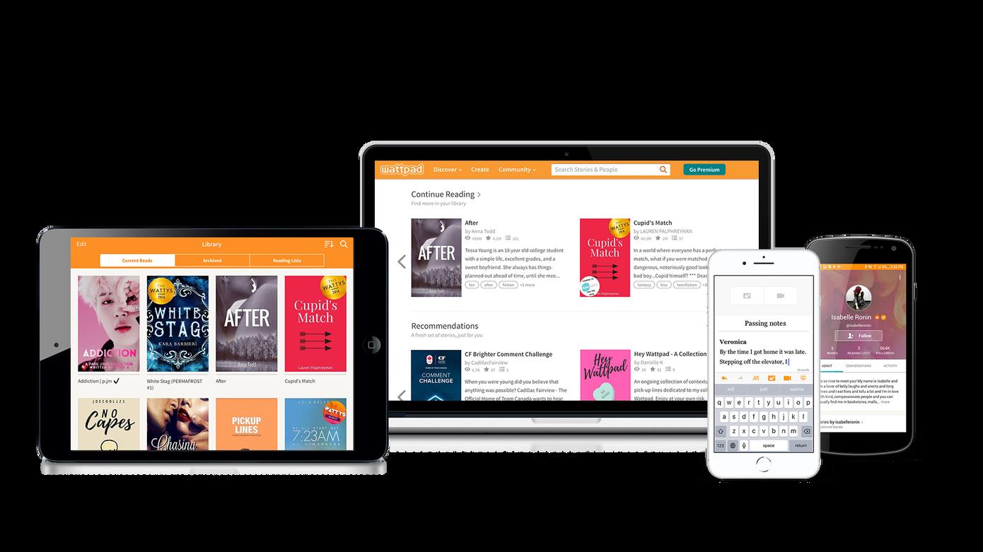 La comunidad de Storytelling en Wattpad adopta contenido para adultos con nuevas herramientas de personalización