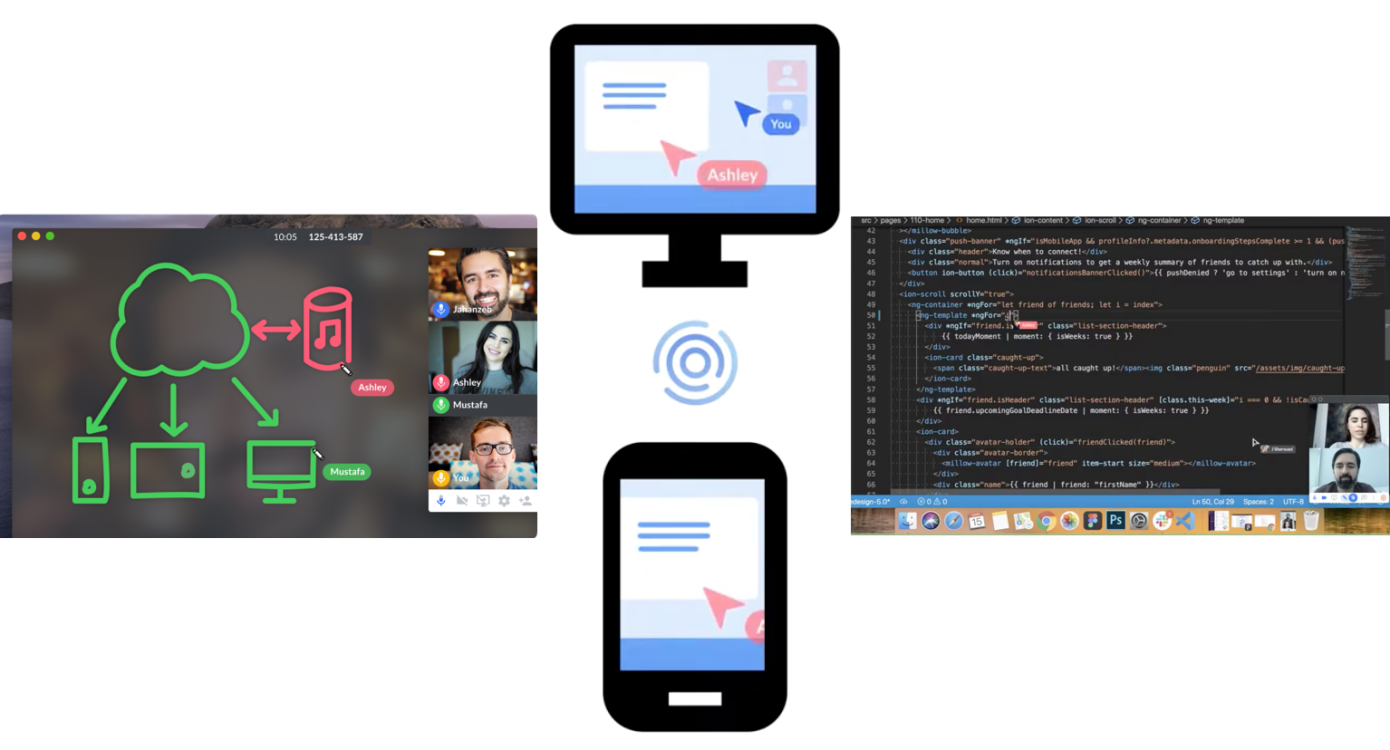 Screen, la nueva herramienta de pantalla compartida