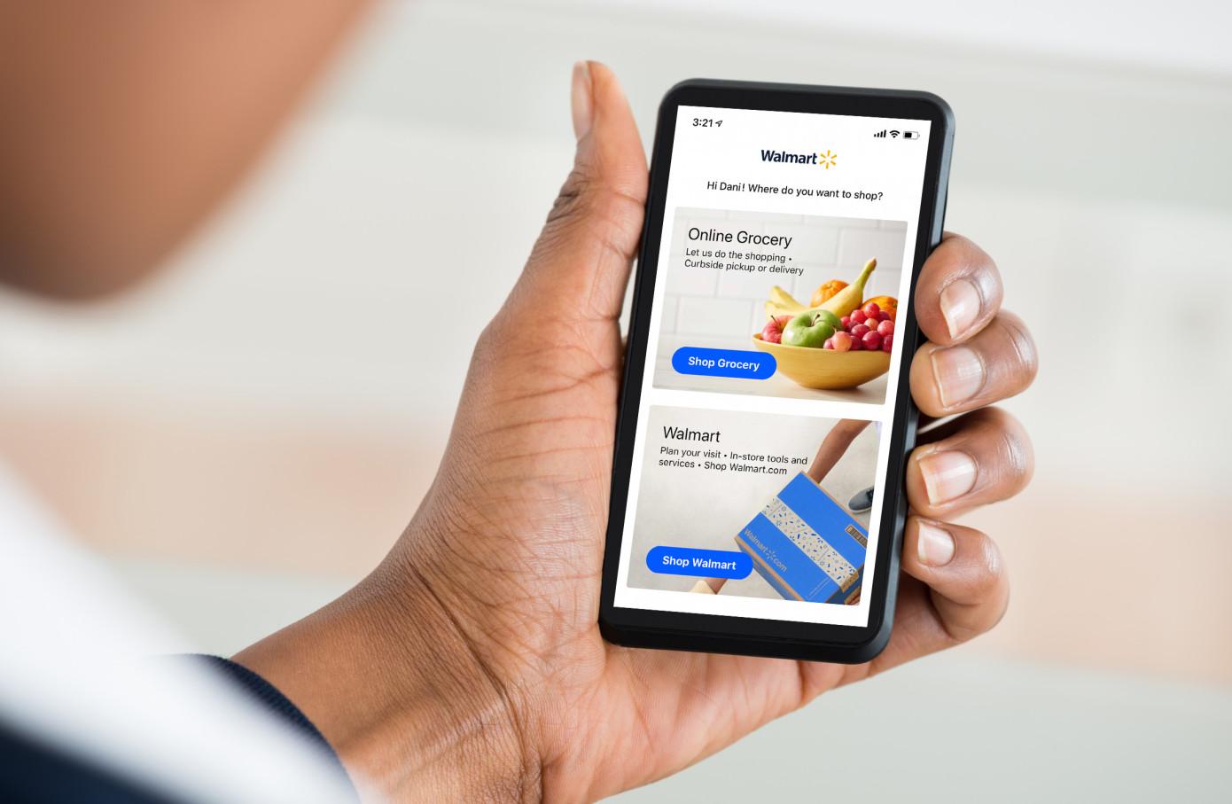 Walmart Grocery se está fusionando con la aplicación principal y el sitio web de Walmart