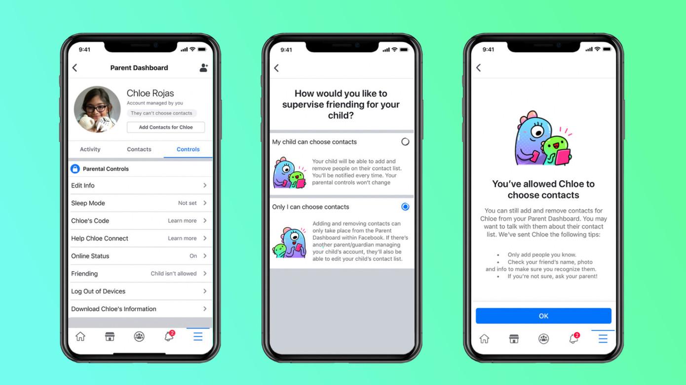 Messenger Kids de Facebook se lanzará en más de 70 países adicionales con nuevas funciones