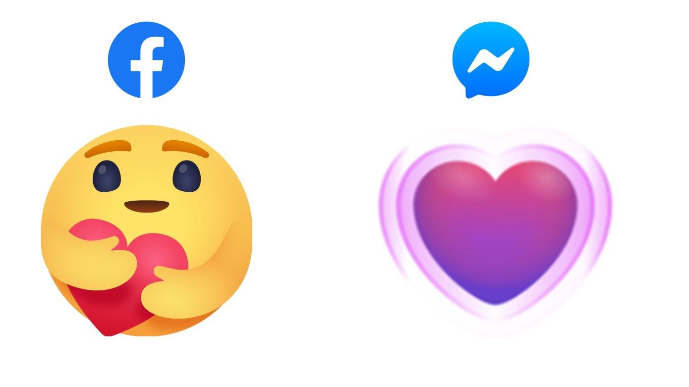 Facebook agrega nuevas reacciones de cuidado con emojis en su aplicación principal y en Messenger