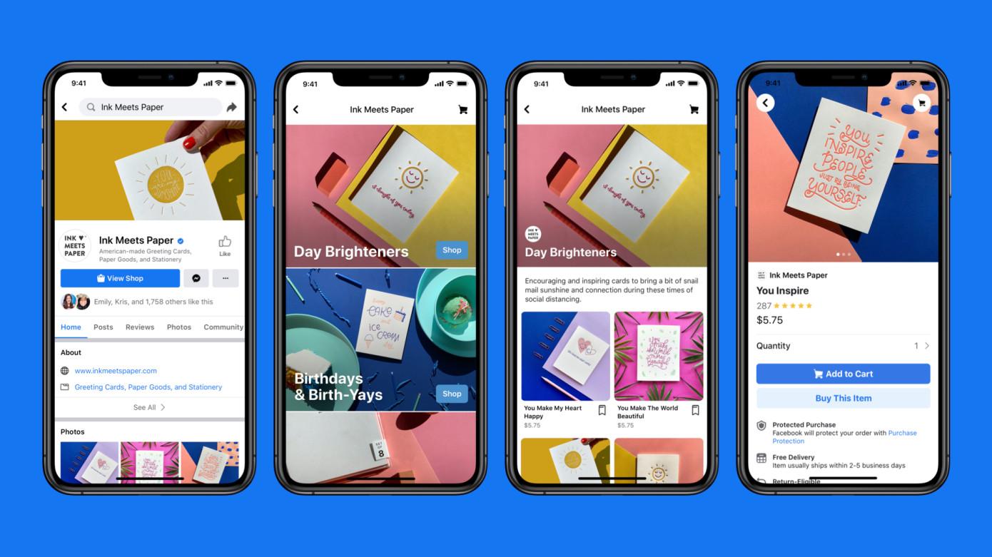 Facebook e Instagram lanzan Shops para convertir los perfiles de negocios en tiendas