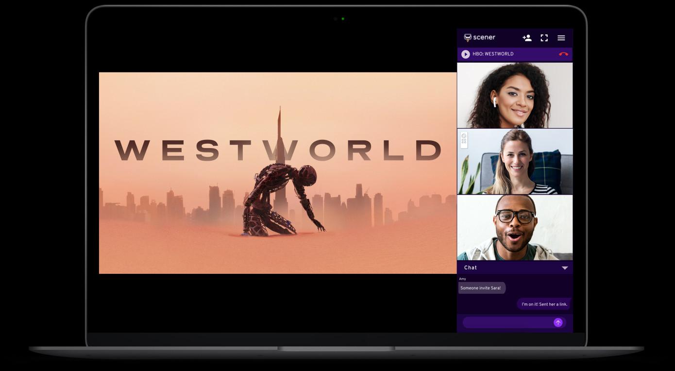 Scener permite ver HBO o Netflix en un teatro virtual con hasta 20 personas