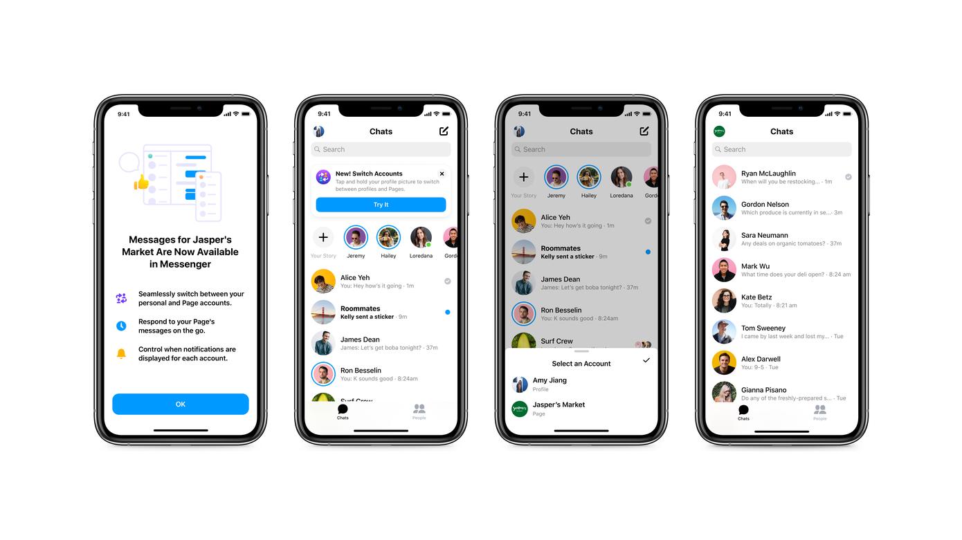 Facebook permite a las empresas responder a sus clientes en Messenger