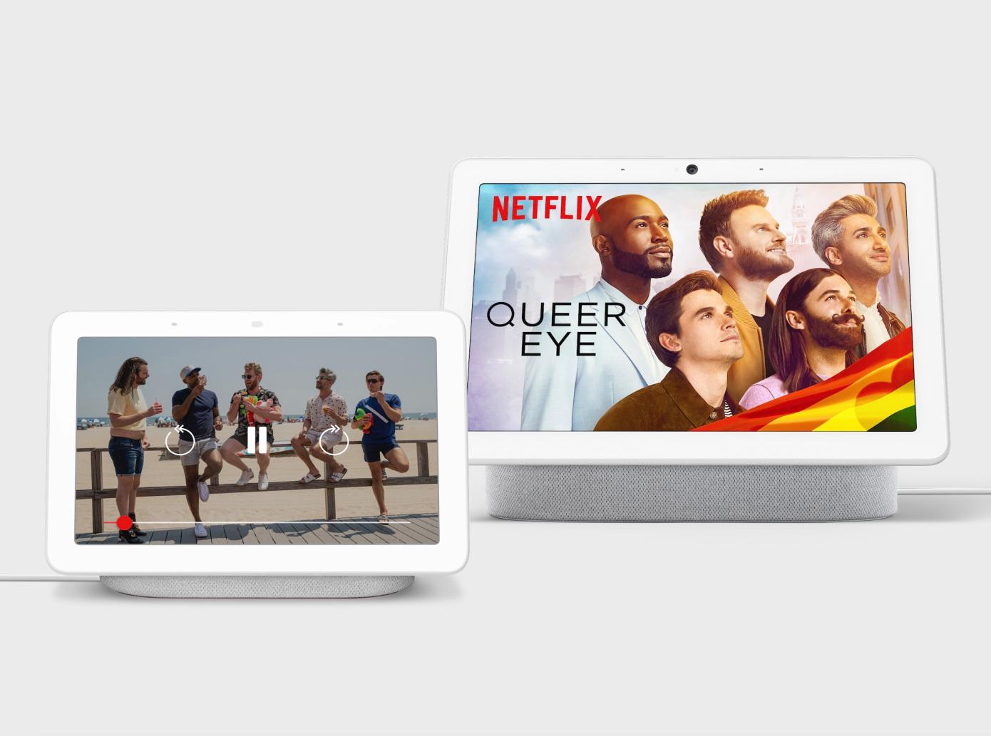 Netflix se expande hacia las pantallas inteligentes Nest de Google