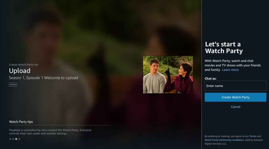 """Amazon Prime Video presenta """"Watch Party"""", una experiencia de visualización compartida"""