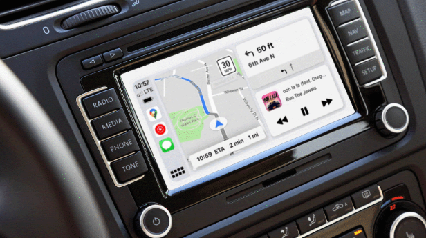 Google Maps llega al panel watchOS y CarPlay de Apple