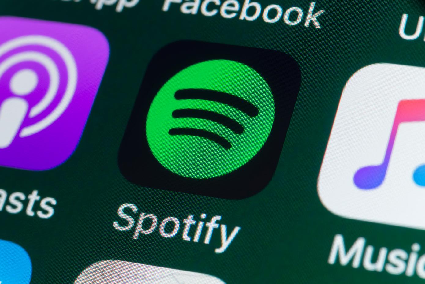 Spotify está desarrollando una función de «eventos virtuales»