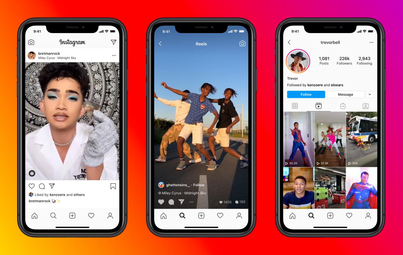 Instagram Reels se lanza a nivel mundial en más de 50 países