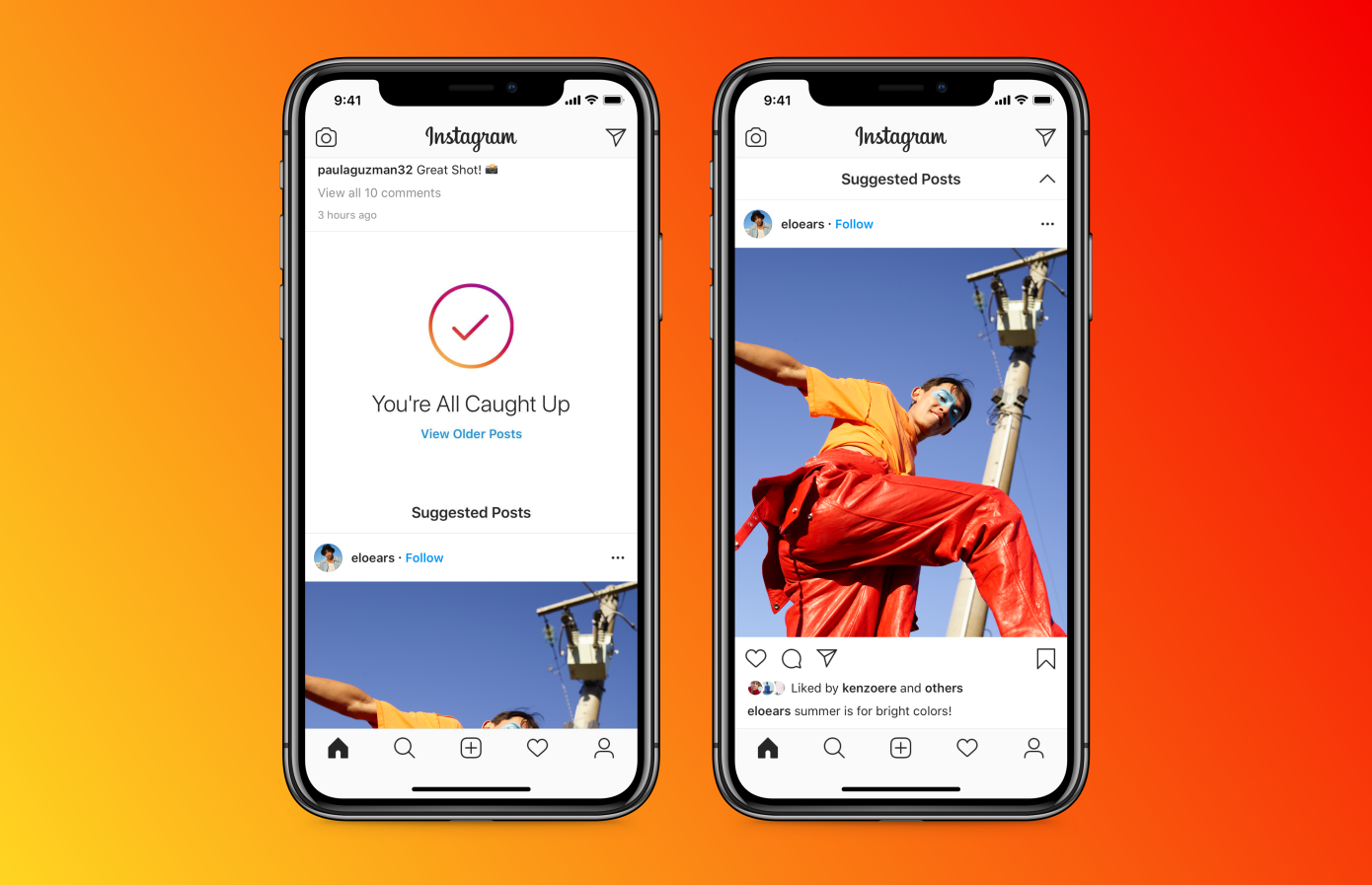 """Instagram encuentra un nuevo espacio publicitario con el lanzamiento de la función """"Publicaciones sugeridas"""""""
