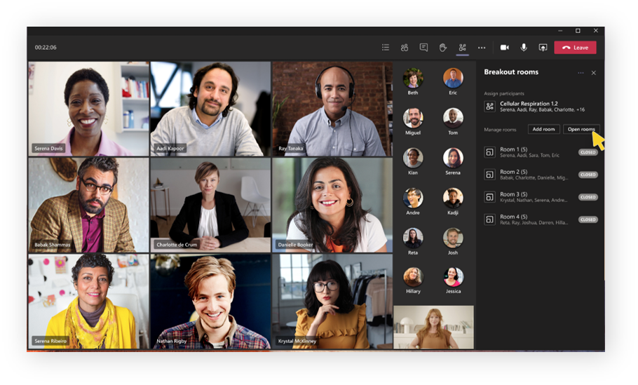 Microsoft Teams agrega salas de reuniones, diseños personalizados y viajes virtuales