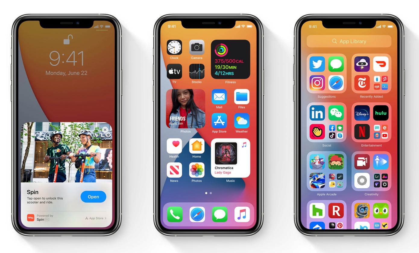Apple lanzó la versión final de iOS 14