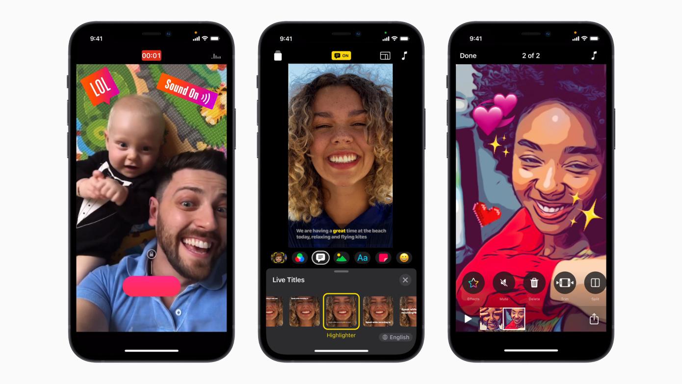 Apple se acerca a la generación TikTok con una versión actualizada de Clips