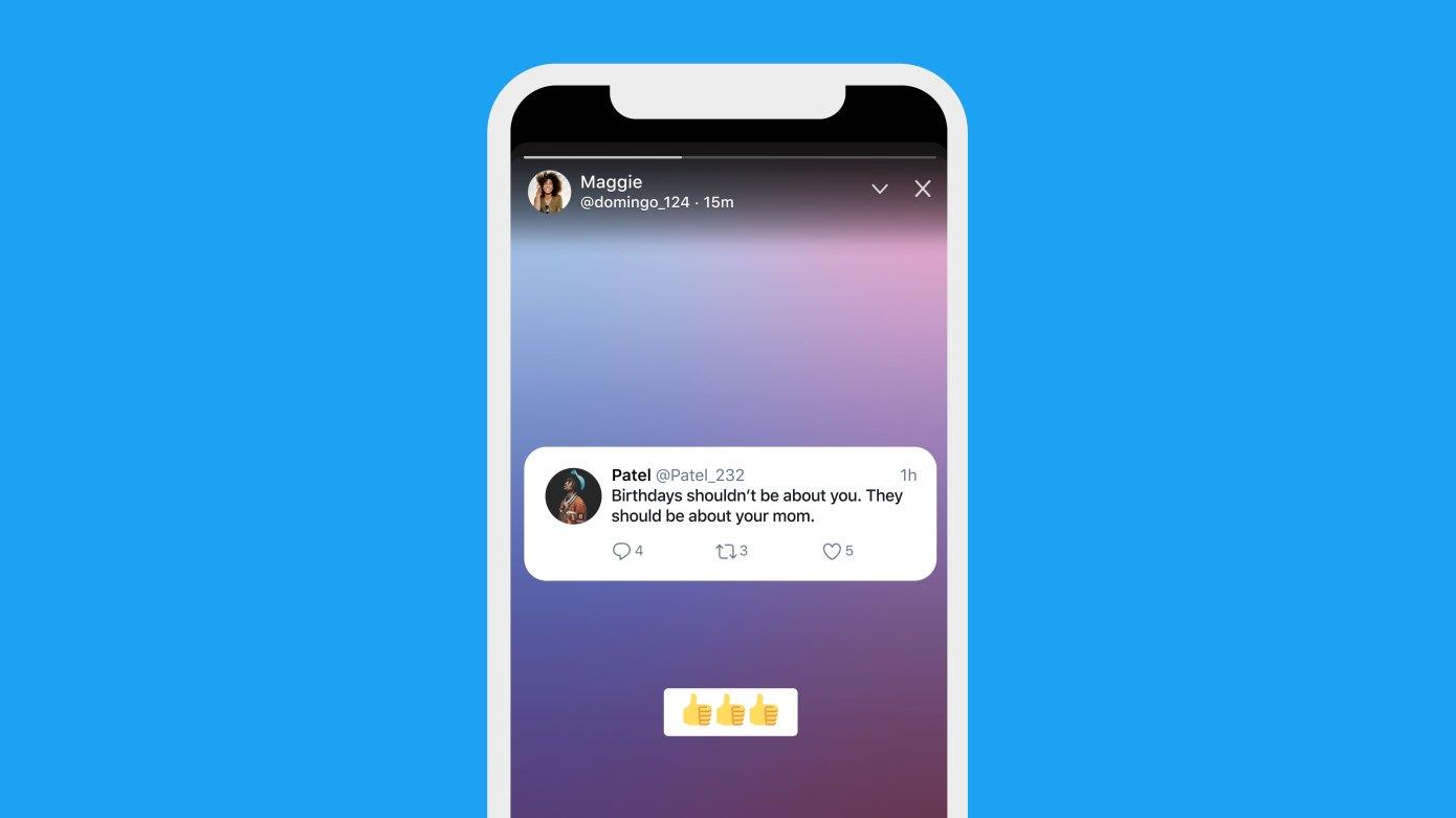 """Twitter lanzó sus Stories, también conocidas como """"Fleets"""", para todos los usuarios"""