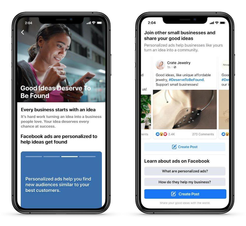La nueva campaña publicitaria de Facebook aumenta los beneficios de los anuncios personalizados