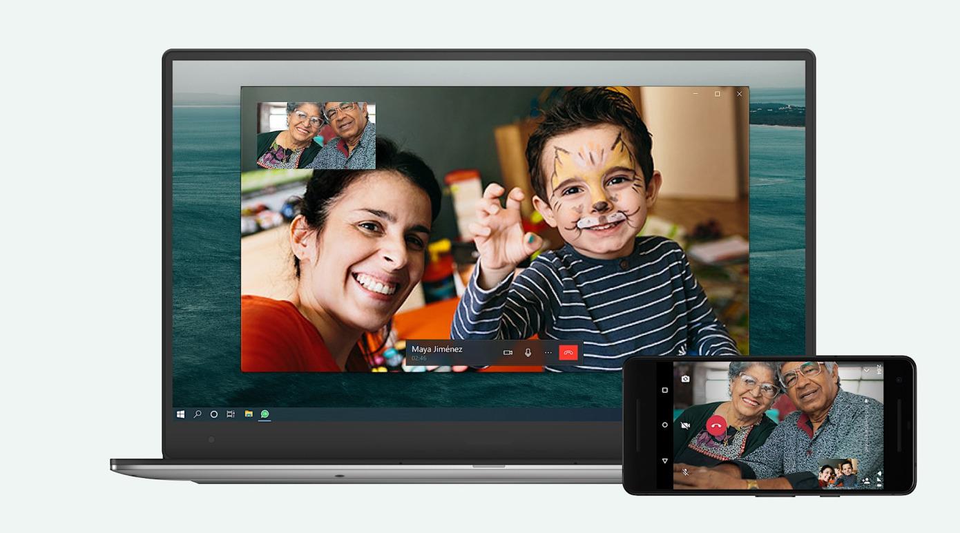 WhatsApp agrega llamadas de voz y video a la aplicación de escritorio