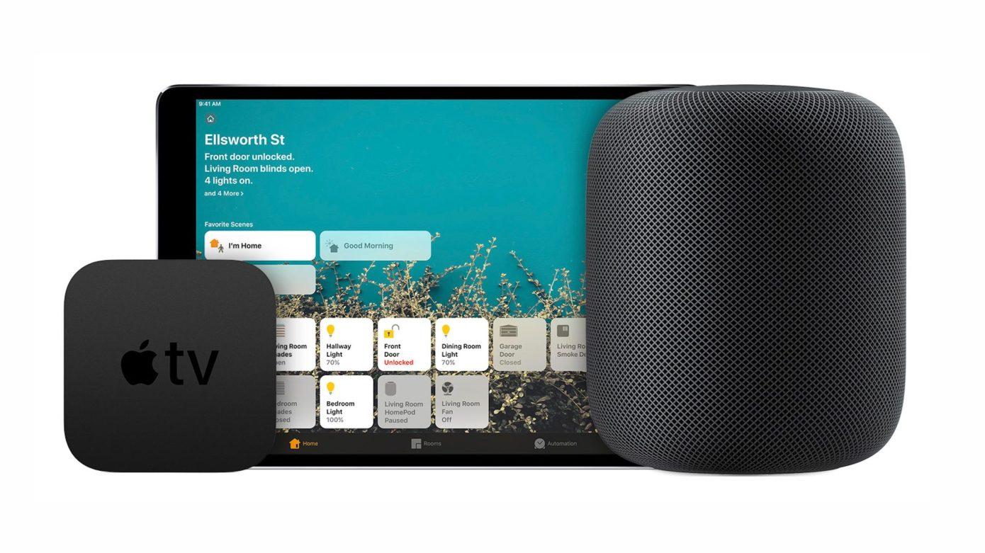 Apple está desarrollando una combinación de Apple TV/HomePod y una pantalla de altavoz inteligente similar a un iPad