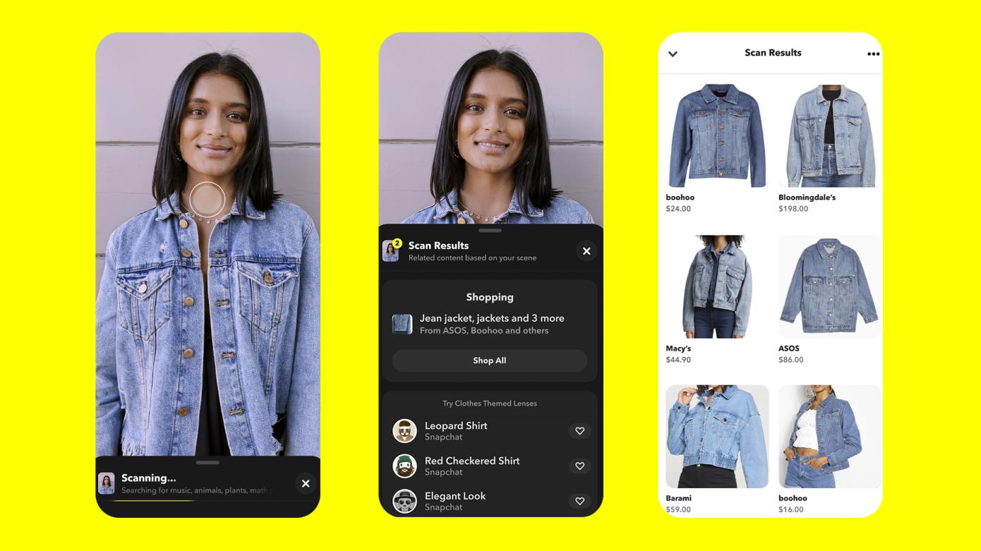 Snap enfatiza el comercio en actualizaciones de su cámara y plataformas AR