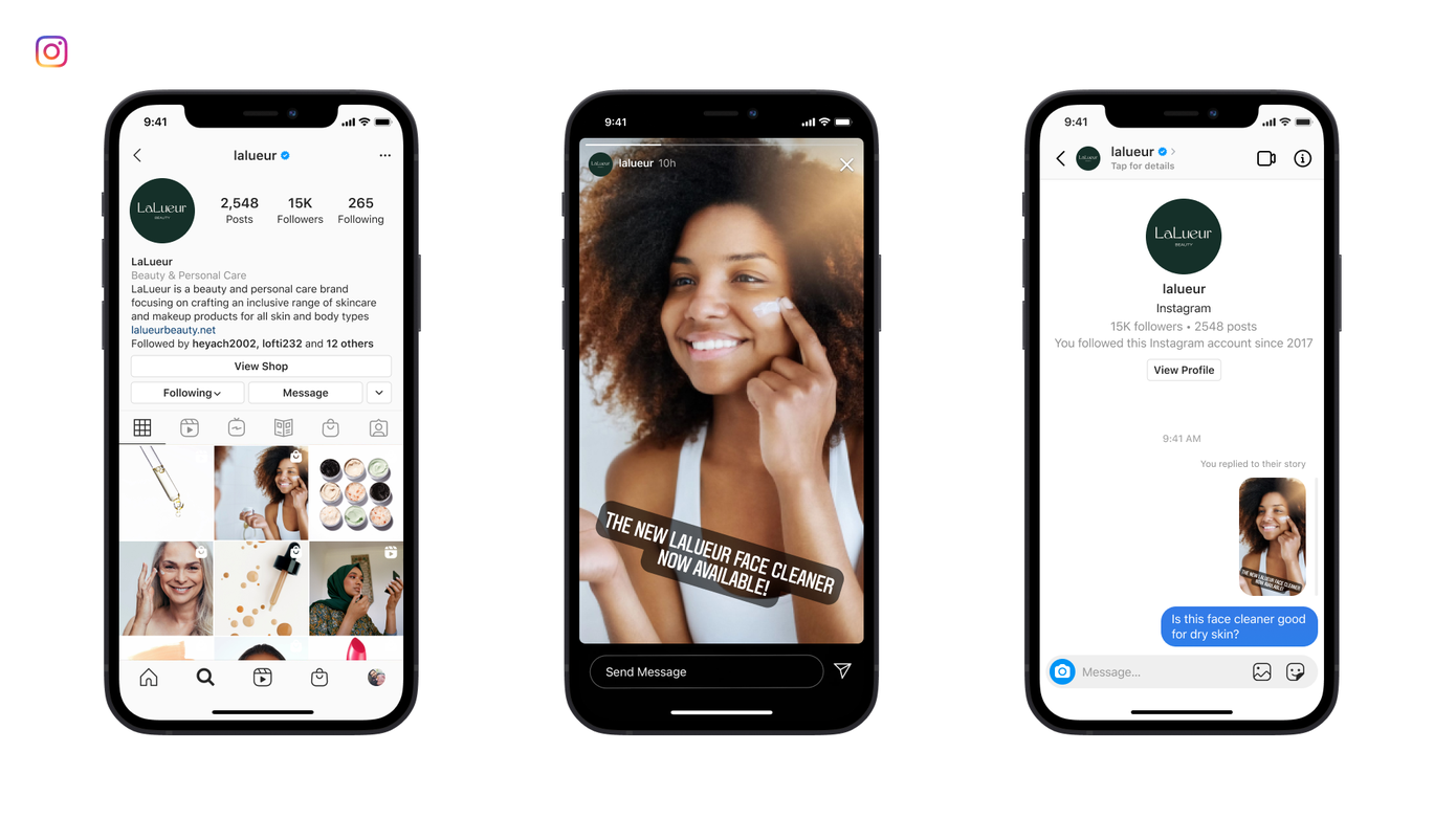 Facebook expands its Messenger API to Instagram