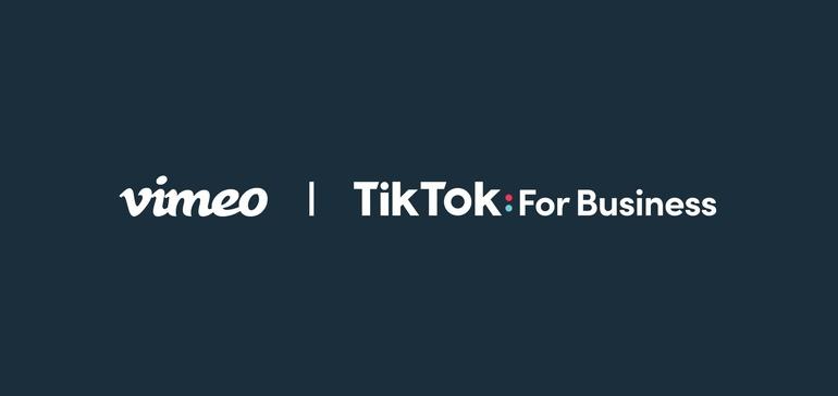 TikTok integra las herramientas de creación de videos de Vimeo para atraer a más vendedores de pequeñas empresas