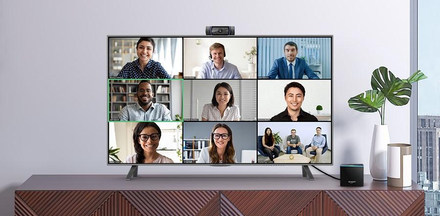 Fire TV Cube de Amazon ahora admite llamadas de Zoom en el televisor