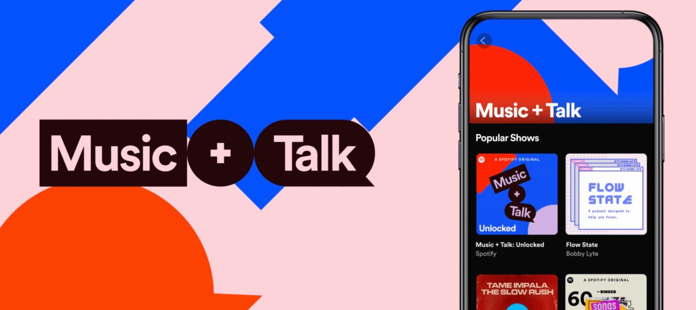 Spotify expande su formato similar a un DJ de radio, Music + Talk, a creadores globales