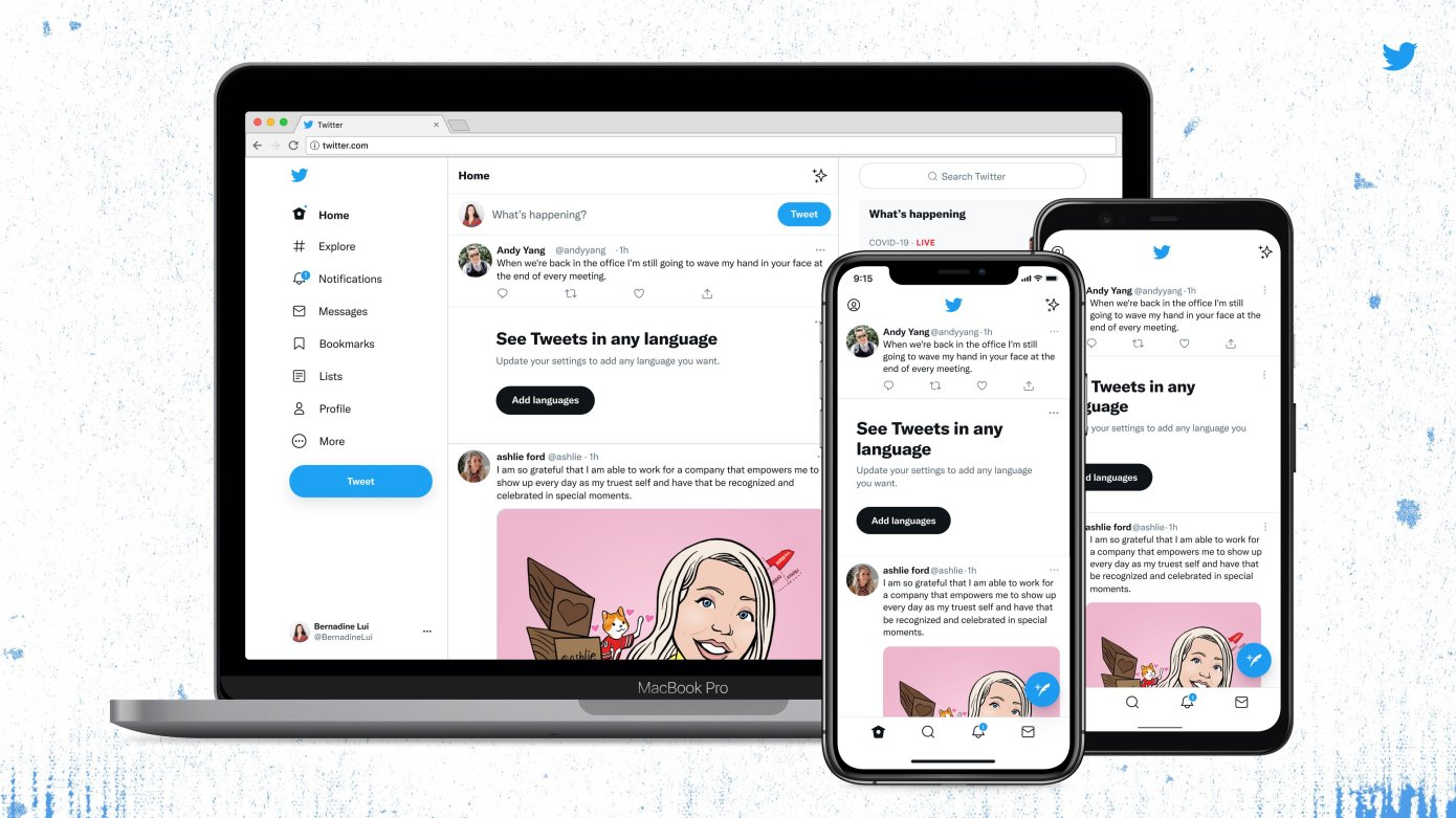 Twitter redesigns website and app with new font, less clutter and high-contrast features