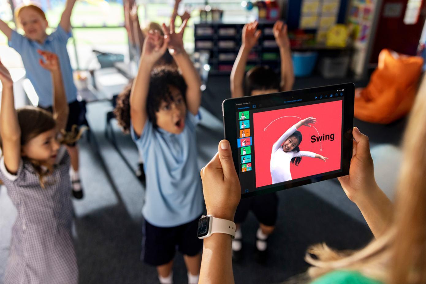 Apple lanza una nueva guía de codificación para estudiantes de primaria