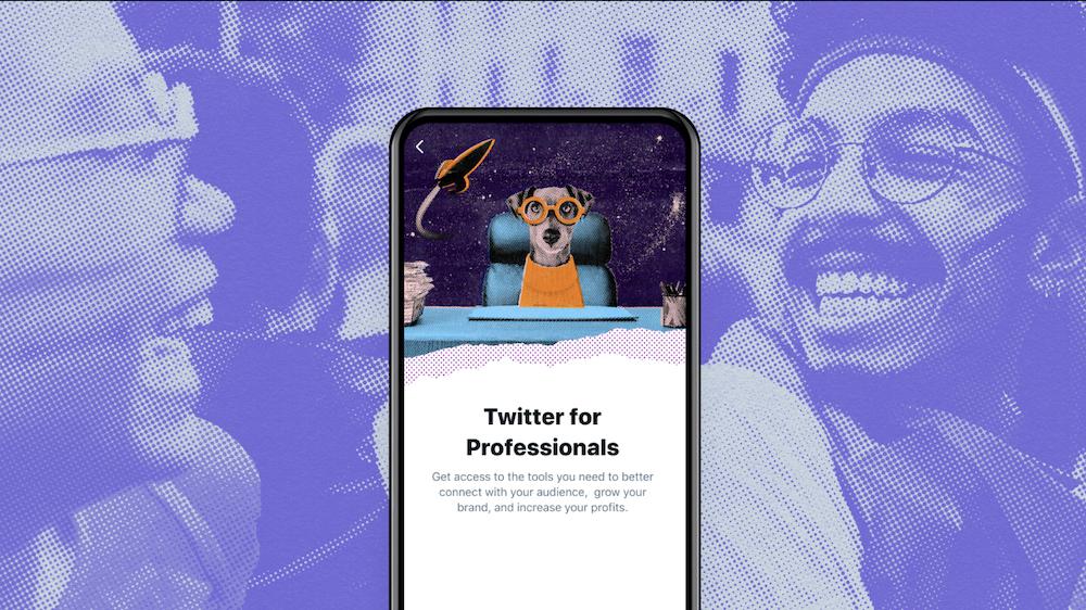 Twitter para profesionales comenzará a implementarse para empresas y creadores